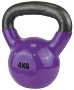 UFE Vinyl Coated Gym Exercise Training Weight Body Dipping Fitness Kettlebell