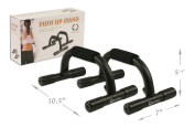 Steel Pushup Bars by Da Vinci with Non-Slip Feet and Comfort Foam Grip for Providing the Best Safe Push Up Stands, 1 Pair