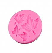 Fall Maple Leaf Silicone Mould - Custom Decorating Silicone Moulds from Bakell