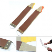 Grocery House Canvas Leather Straight Razor Sharpening Strop For Barber Knife Shave