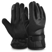 Vbiger Touch Screen Gloves Outdoor Winter Warm Gloves for Men