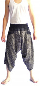 Siam Trendy Men's Japanese Style Pants One Size Black Tradition Stone