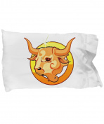 Zodiac Sign Taurus - Pillow Case