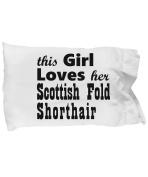 Scottish Fold Shorthair - Pillow Case
