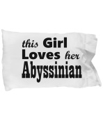 Abyssinian - Pillow Case
