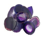 Agate Slice Purple - Mini