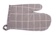 Grid Oven-mitts Baking Essential Heat Insulation Special Gloves,A Pair