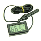 Grocery House Mini Digital LCD Thermometer Hygrometer Temperature Humidity Metre with Probe