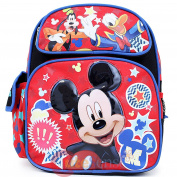 Disney Mickey Mouse Friends Medium School Backpack 30cm Bag Club House Stars