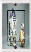 R2-D2 and BB8 Decorative Light Switch Cover And/or Outlet