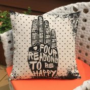 "Muxika 46cm X18"" Fashion Top Quality Oil Painting Pillow Case Sofa Bedroom Waist Throw Linen Pillow Case Cushion Cover Home Decor Good Gift"