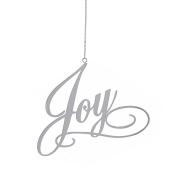Christmas Ornament 10cm Metal Sentiment JOY by Kurt Adler