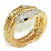 Doinshop Vintage Retro Punk Wedding Bridal Wristband Snake Cuff Bangle Bracelet
