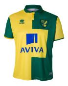 2015-2016 Norwich City Errea Home Football Shirt