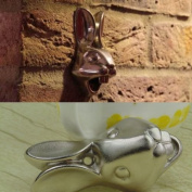 Grocery House Stainless Rabbit Iron Wall Mount Bottle Cap Opener