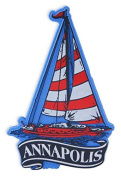 Rubber Magnet Large Annapolis Sailboat