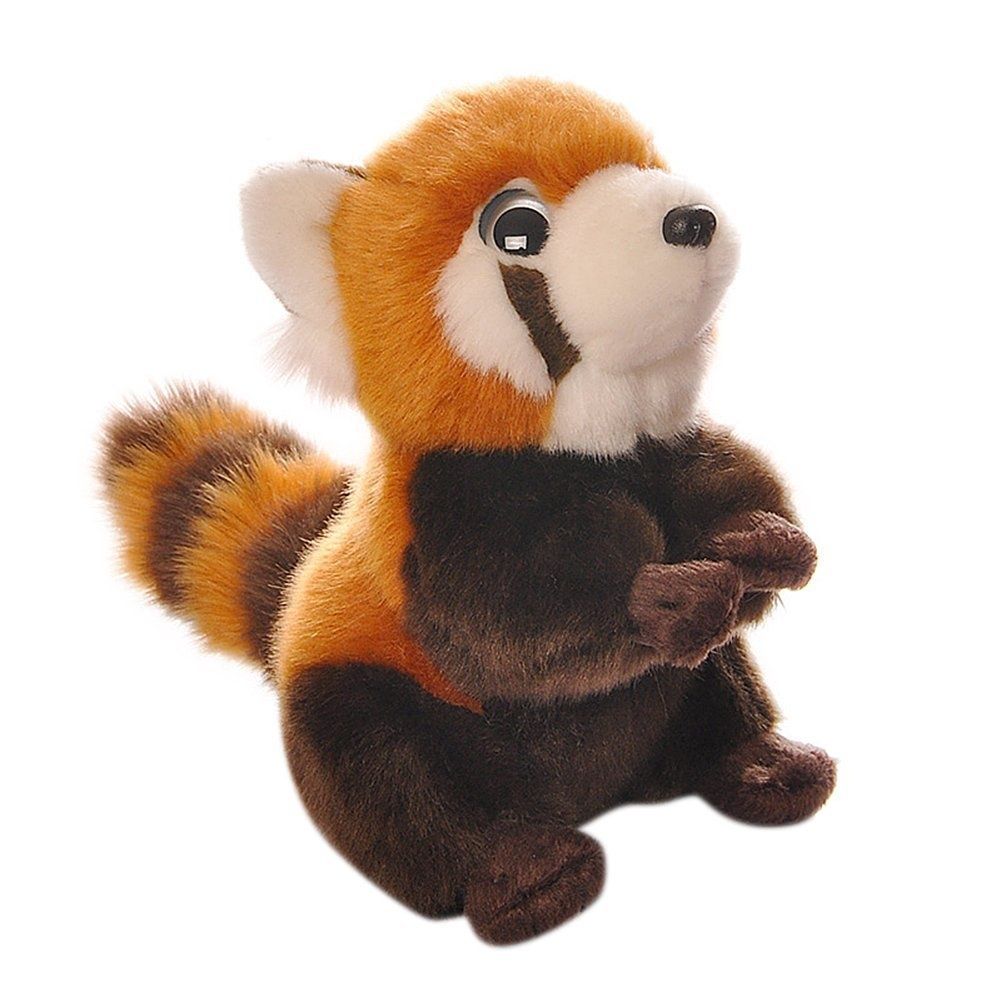 Bestlee Realistic Plush Red Panda Stuffed Animal Soft Toy 18cm By