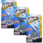 6 Air Force toy Aeroplanes diecast metal and plastic aeroplanes, Party kits, boy gift pack