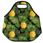 Estrellaw Pineapple And Long Leaves Lunch Bag