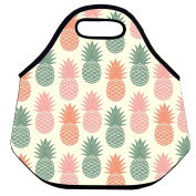 Estrellaw Pineapple In Pink Green Orange Lunch Bag