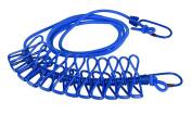 Zeroyoyo Elastic Garment Drying Clips Ropes Travel Garment Hanging Cord Laundry Hook Clothesline