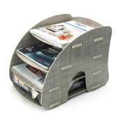 Menu Life A4 Size Magazine File Collector Trays File Desk Storage Cabinet Box