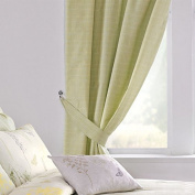One pair of 'Botanique' 66x72 Curtains (width by drop) by Dreams 'n' Drapes