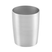 InterDesign Rustproof Alumina Tumbler Cup for Bathroom Vanity Countertops - Brushed