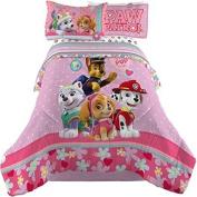 Paw Patrol Girl Comforter and Sheets Bedding Set