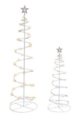 Led Spiral Trees 0.9m and 1.2m Combo Pack