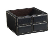 1 X Mission Faux Leather Clip Holder, Black