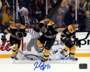 Patrice Bergeron Boston Bruins Signed Autographed Game 7 Comeback vs Leafs 16x20