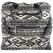 The Hailey by j/fit - Tribal Print Travel Bag