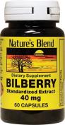 Bilberry 40 mg 60 Caps