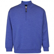Proquip Men's Merino Half Zip Lined Water Repellent Knit Wear Jumper