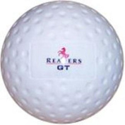 Readers Men's Gt Dimple Top Quality Hockey Ball In White
