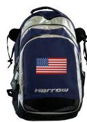 American Flag Field Hockey Bag or US Flag Lacrosse Backpack HARROW