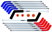 DOM 130cm Pro Replacement Floor Hockey Stick, Blue