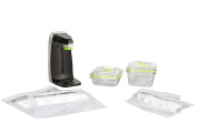 FoodSaver FM1230-000 Space-Saving Fresh Appliance System for Zipper Bags & Fresh Containers, FM1230, , Black