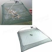 Tanchen Foldable Umbrella Baits Fishing Trap Mesh Net Crab Shrimp Crawfish Lobster Cast Dip Net 100cmX100cm