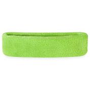 Suddora Head Sweatbands - Athletic Cotton Terry Cloth Headbands For Sports