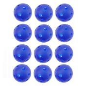 Crestgolf 40mm Plastic Airflow Golf Balls Pack of 12