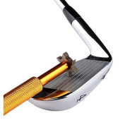 LEORX Golf Club Groove Sharpener Tool with 6 Cutters
