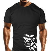 New Mens Beast Fist Gym T-Shirt - Training Top - Sports - Bodybuilding Casual Loose Fit Top