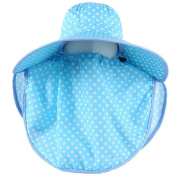 Fletion Latest Spring Summer Ladies Girls Outdoor Cycling 360 Degrees Sun Visor UV Neck Protection Hat with A Pair of Sleeves
