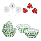 Sweetly Does It Garden Cupcake Kit, Multi-Colour