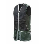 Beretta GT31 Silver Pigeon Shooting Vest In Black & Green