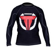 Throwdown Men's Sweep MMA and Grappling Compression Rash Guard