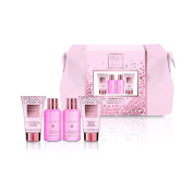 Baylis & Harding Pink Prosecco and Cassis Hand Wash and Hand Lotion Set
