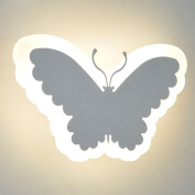 LED Butterfly Living Room Wall Lamp Creative Bedroom Bedsides Wall Light Hallway Balcony Wall Sconce